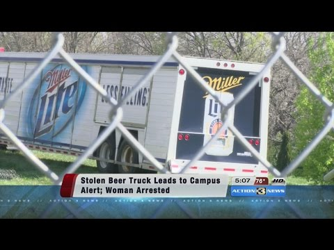 Woman arrested for stealing beer truck