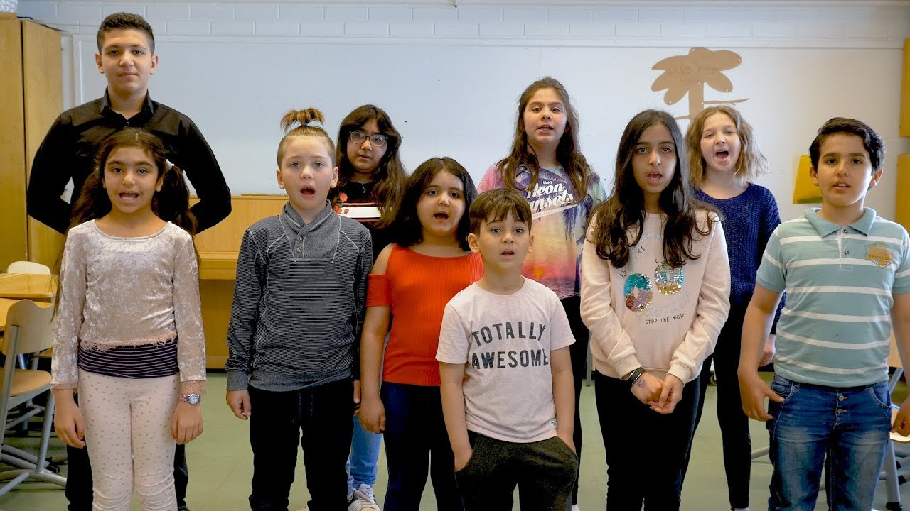 Mother language is my right (English subs) – Poem in Kurdish by pupils from Pohjois-Hervanta School