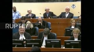 Netherlands  Convicted Bosnian Corat leaders appeal war crimes convictions