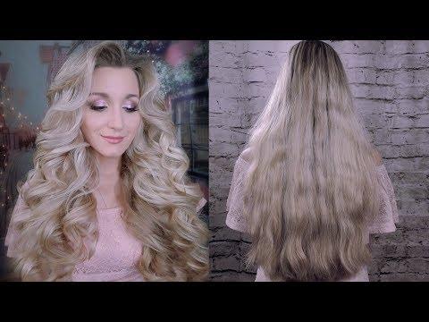 Как накрутить кудри утюжком для волос видео на длинные волосы