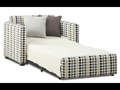 single sofa bed single sofa bed chair youtube. Black Bedroom Furniture Sets. Home Design Ideas