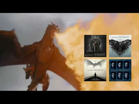 Game Of Thrones Soundtrack: Dragons Theme Season 6 Compilation