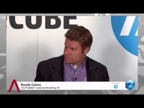 Randy Cairns & Brian Weiss - HP Discover Las Vegas 2014 - TheCUBE - #HPDiscover