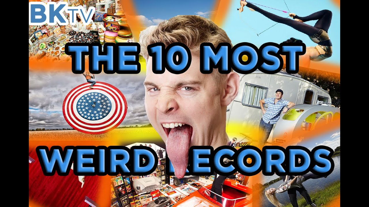 the 10 most weird records in the guinness book 2015 youtube