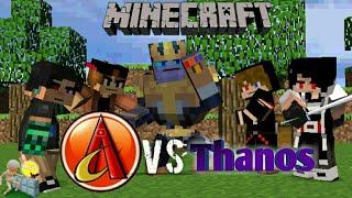 AniCraft VS Thanos | Animasi Animate It Indonesia