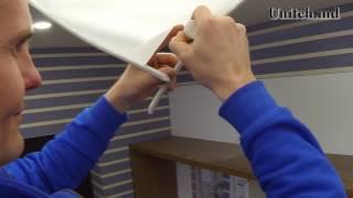 видео Ремонт натяжных потолков своими руками