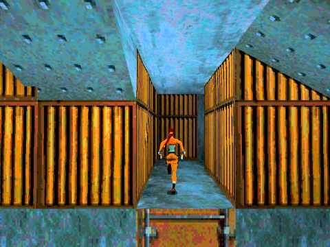Tomb Raider 2 - Perfect Walkthrough - 05 (Offshore Rig)