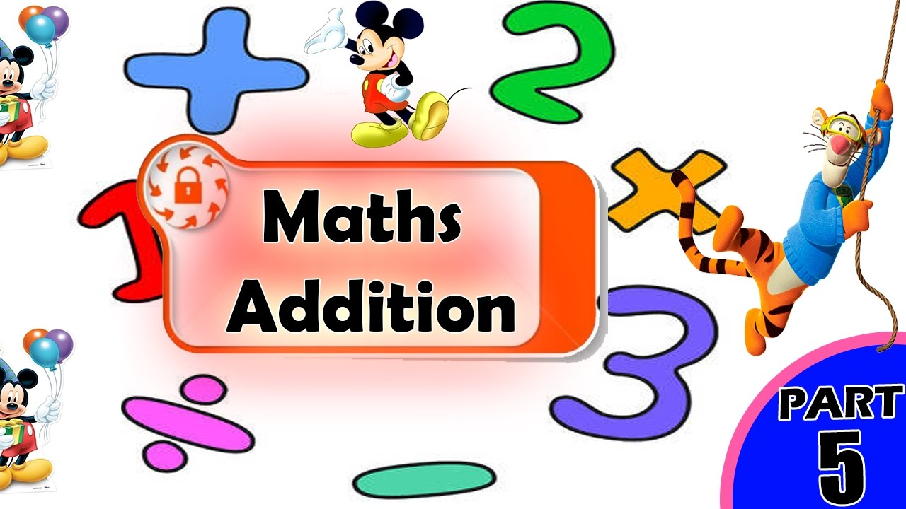 Junior Kids Maths | Math Games for Kids | Basic Addition for Kids ...