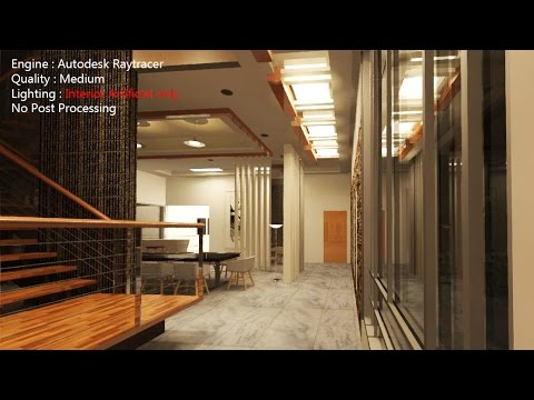 Bim revit advanced tutorial 05 interior rendering for Rendering online