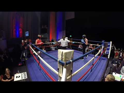 Ultra White Collar Boxing   London   Ring 1   Paul Rae VS Callum White