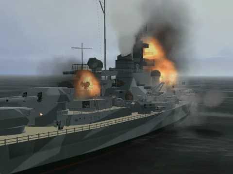 The Battleship Bismarck. The Final Battle