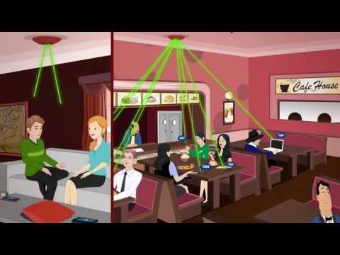 Tavana Yerleştirilen Cihaz İle Telefon ve Tabletler Uzaktan Işıkla Kablosuz Şarj Edilebiliyor