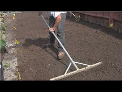 Lawn And Yard Help : How To Grade Your Yard - Youtube