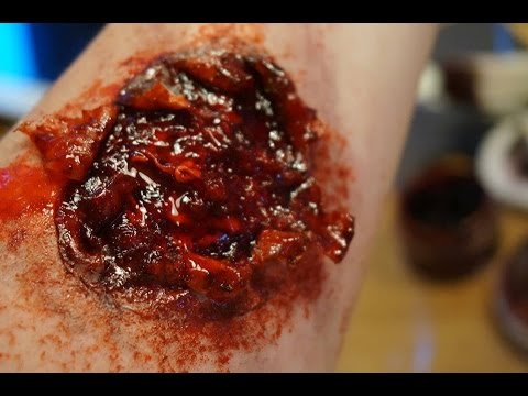 Halloween Makeup SFX: How to Make a Easy Wound