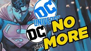 DC Comics Suffers Huge Layoffs, DC Collectibles Shut Down