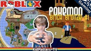 Roblox | Pokemon Brick Bronze | Episode 1 - Tour Back to Snorlax [KM+Gaming S01E51]