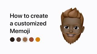 How to create a Memoji on your iPhone or iPad Pro – Apple Support
