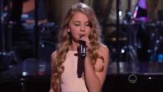 "Tegan Marie performs ""My Guy"" live in concert Smokey Robinson tribute 2016. HD"