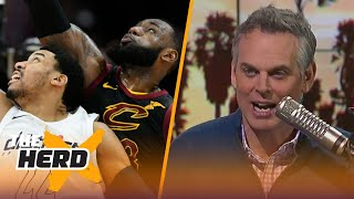 Colin Cowherd on to the Cavaliers losing the Wizards last night | THE HERD