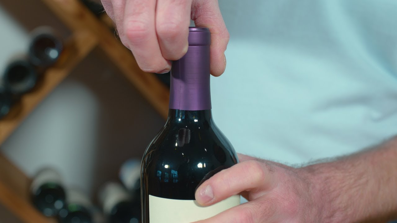 Sådan åbner du en vin korrekt