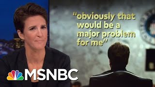 Brett Kavanaugh Called Out For False Statements On Stolen Documents | Rachel Maddow | MSNBC