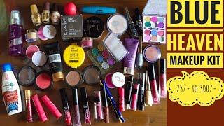 💕Blue Heaven Makeup Kit💕Rs 25 to Rs 300💕November Giveaway Winner Announcement💕Beautiful U💕