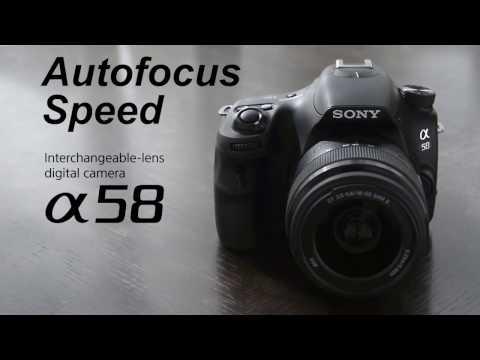 Sony a58 -