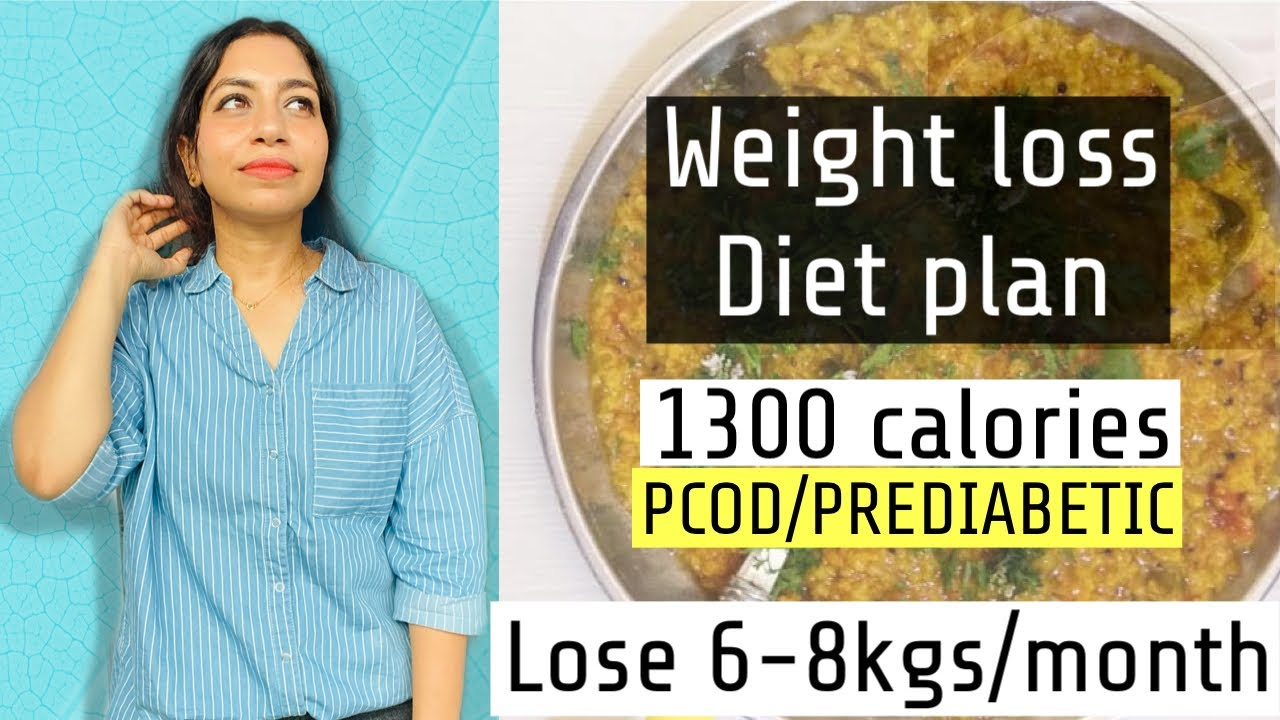 PCOS/PCOD Diet Plan For Weight Loss  | How to lose weight with PCOD | AzraKhanFitness