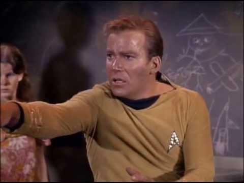"""Kirk: """"NO BLAH BLAH BLAH"""""""