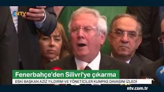 Eski Başkan Aziz Yıldırım Kumpas Davası'nı izledi...(FB'den Silivri'ye çıkarma)
