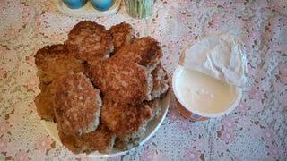 Гречневые оладьи/что приготовить из отварной гречи