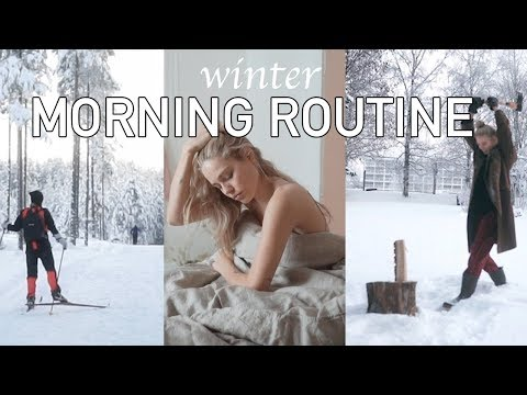 Winter Morning Routine in Norway