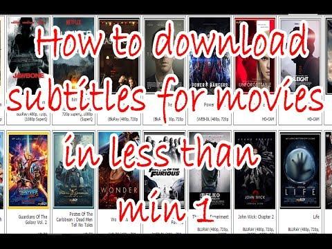 How To Download Subtitles For Movies | كيفية تحميل ترجمة لأي فيلم أجنبي