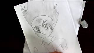 How to draw Gingka Hagane - Beyblade
