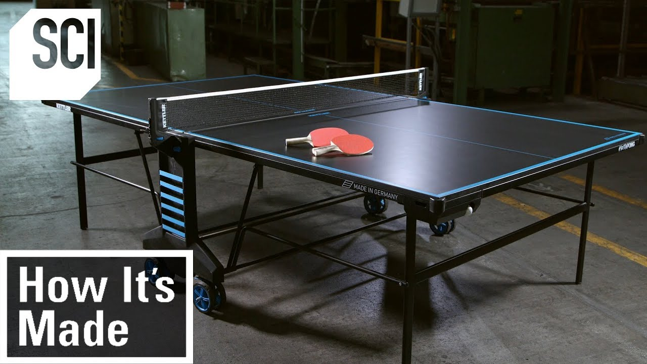 How To Build A Ping Pong Table How It S Made