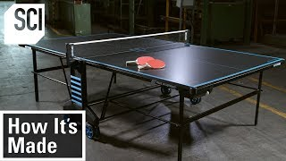 How To Build a Ping Pong Table | How It's Made