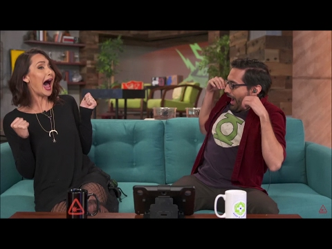Jessica Chobot Screams In Terror!!!