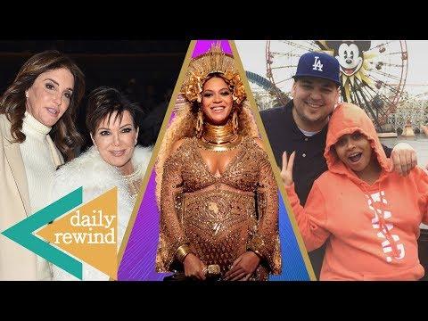 Kris Jenner SHADES Caitlyn, Beyonce Welcomes Twins, Rob Kardashian & Blac Chyna REUNITE -DR