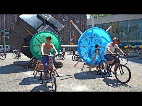 Dystopia: Should Homeless People Pedal Bikes for Energy Credits?