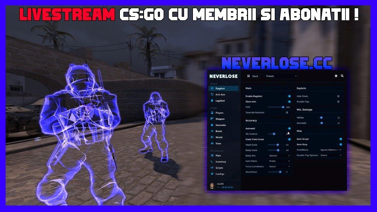 LIVE | CS:GO Hacking | Jucam PRIME/NONPRIME cu MEMBRII si ABONATII !