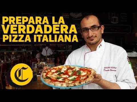 Prepara la verdadera pizza italiana