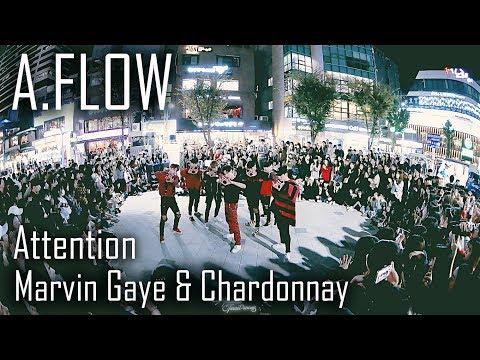 [역대급 버스킹] A.FLOW | ATTENTION + Marvin & Chardonnay | Choreography By Euanflow & Vana Kim | LEtudel