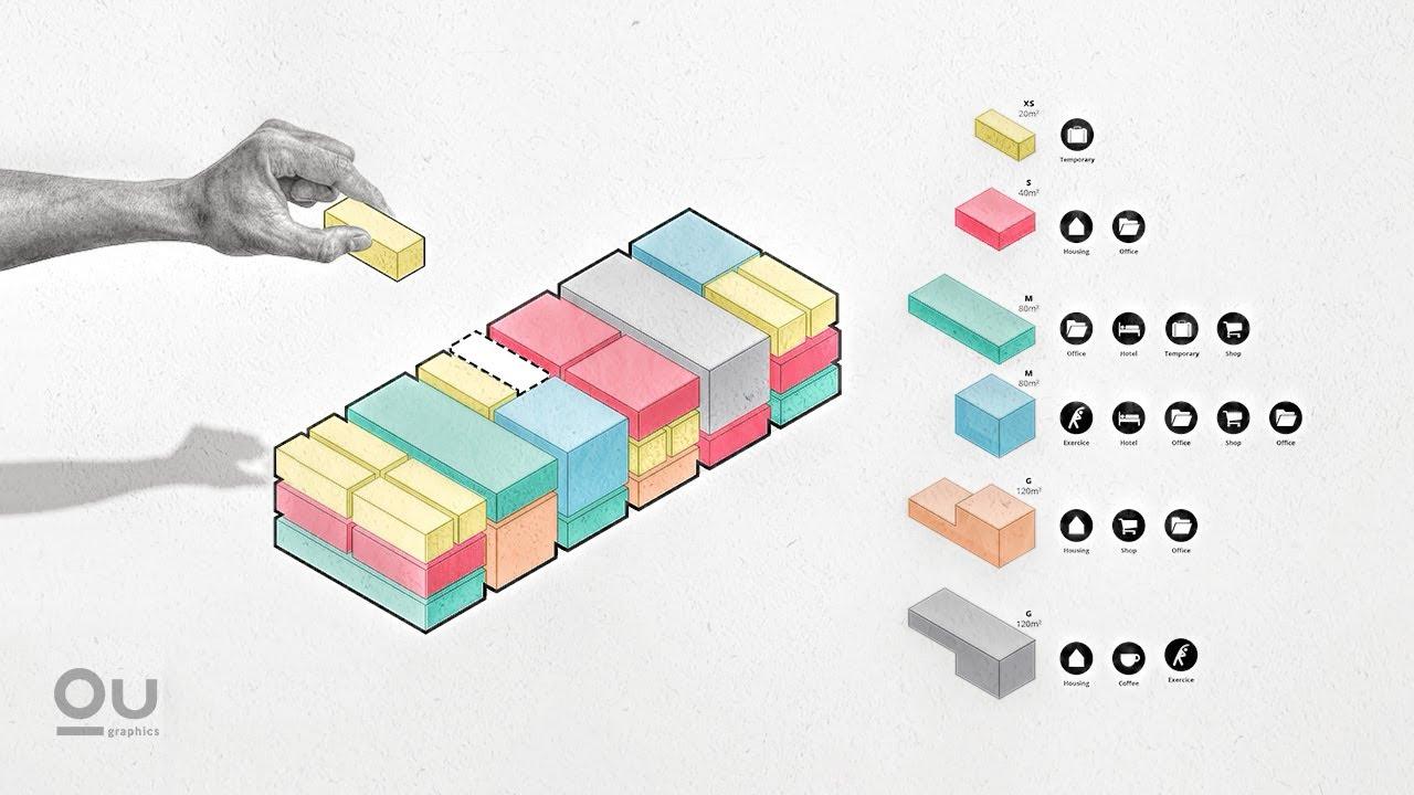 Bubble Diagram Programming Architecture Program Diagram In Adobe Illustrator Youtube