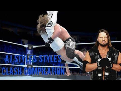 AJ Styles Styles Clash Compilation