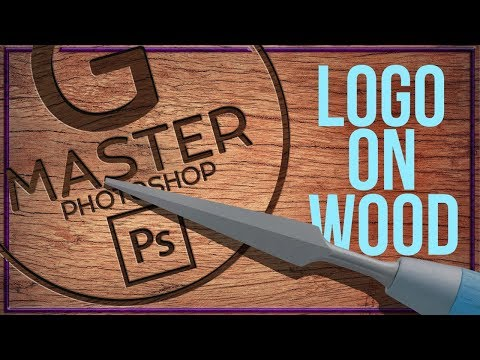 Create A VINTAGE LOGO With WOOD CARVING EFFECT In Photoshop