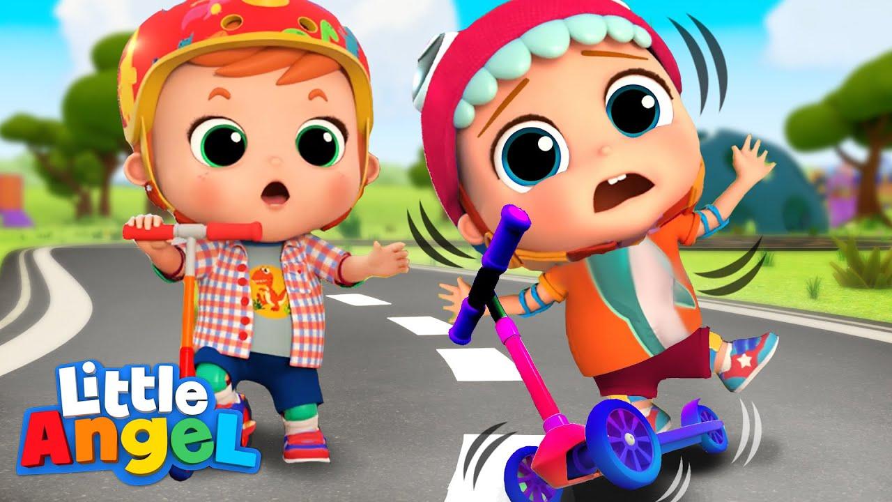 Keep Trying Baby John | Little Angel Kids Songs, Sing Alongs And Nursery Rhymes