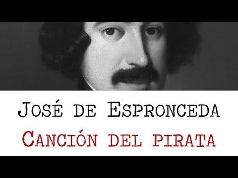 Canción del Pirata - Poemas de José de Espronceda