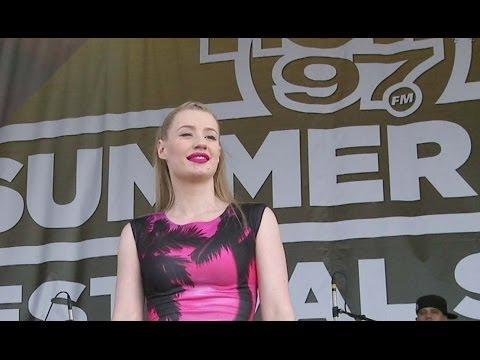 "IGGY AZALEA - ""Work"" - Live At HOT97 Summer Jam 2014"
