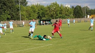 Narew Ostrołęka - GKS Pokrzywnica (gol na 3:2)