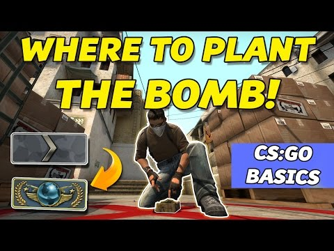 WHERE TO PLANT THE BOMB | De_dust2